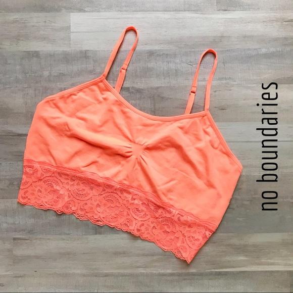 34610899047ce No Boundaries Intimates & Sleepwear | Seamless Wide Lace Bra | Poshmark